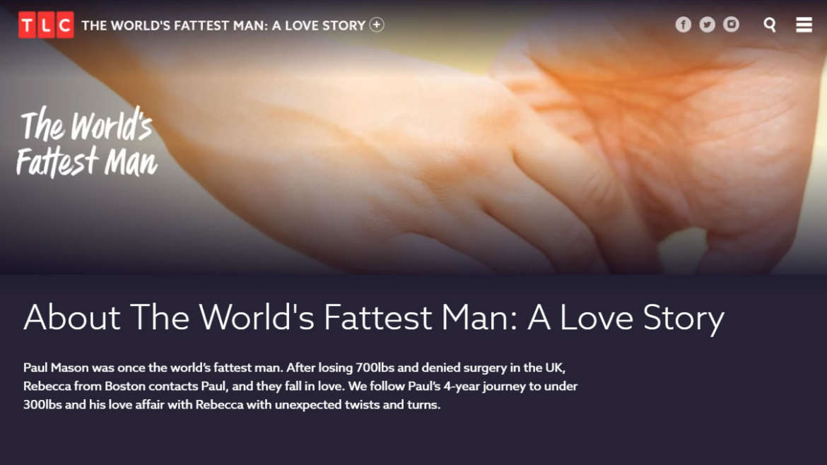 AboutThe World's Fattest Man: A Love Story